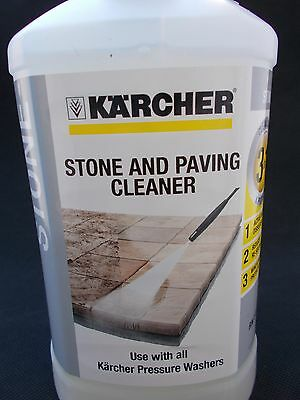 Kärcher RM611 3-in-1 Stone Plug and Clean STONE & PAVING CLEANER- Black
