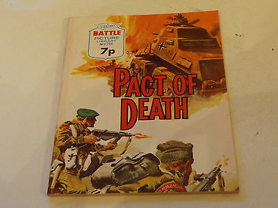 BATTLE PICTURE LIBRARY NO 786!,dated 1974!,V GOOD FOR AGE,RARE ISSUE,43 yrs old.