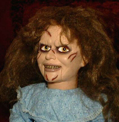 "HAUNTED Exorcist Ventriloquist doll ""EYES FOLLOW YOU"" creepy puppet dummy prop"