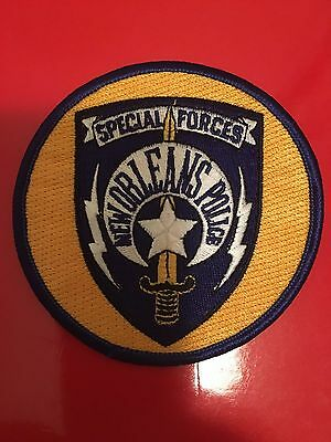 New Orleans Louisiana Police Special Forces Shoulder  Patch
