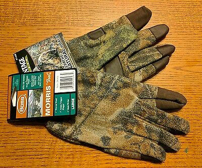 BOSS Morris Feel Woven Wool Gloves Advantage Timber (Large) 200ATL