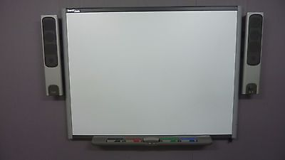 """64"""" Interactive Smart Board SB660  complete with Speakers, Pens, Tray and PSU"""
