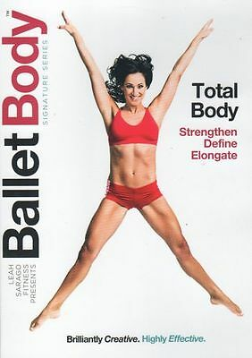 Ballet Barre Toning EXERCISE DVD - BALLET BODY Total Body Workout - 3 Workouts!