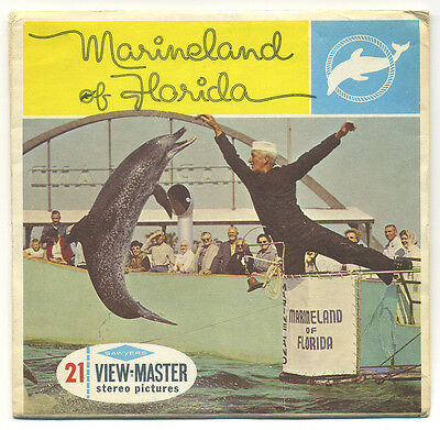 Marineland of Florida 1960's Sawyer's View-Master Packet A-964
