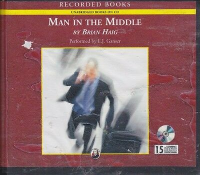 MAN IN THE MIDDLE by BRIAN HAIG~UNABRIDGED CD'S AUDIOBOOK