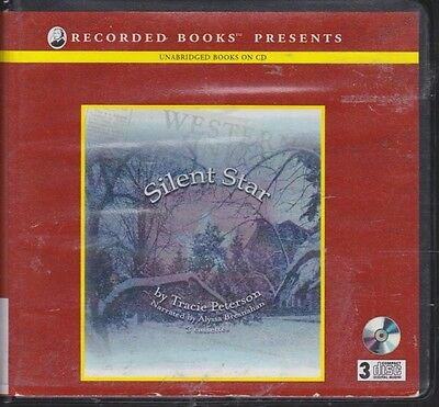 SILENT STAR by TRACIE PETERSON~UNABRIDGED CD'S AUDIOBOOK