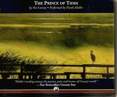 THE PRINCE OF TIDES by PAT CONROY~UNABRIDGED CD AUDIOBOOK