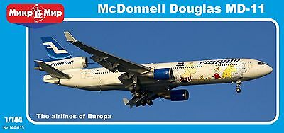 1/144 MD-11 McDonnel Douglas- NEW Mikromir - 3 livery's- only 200 ex!