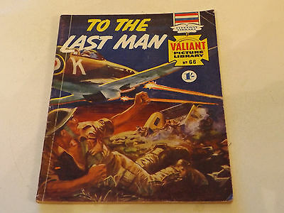 Valiant Picture Library Number 66!!,1966 Issue,v Good For Age,51 Years Old,rare.