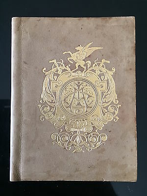RARE 1891 Randwick Sydney Cup race book special cover