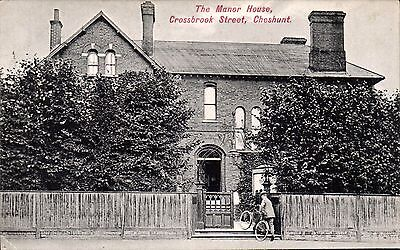 Cheshunt. The Manor House, Crossbrook Street # 2252 by Charles Martin.