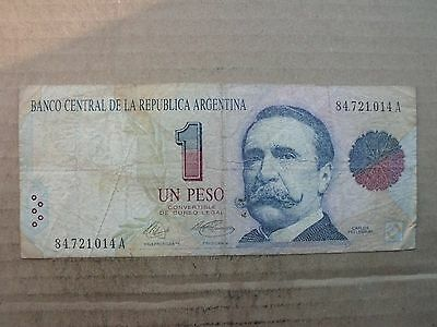 Banknote Argentinien, 1 Peso 1992, Pick 339a