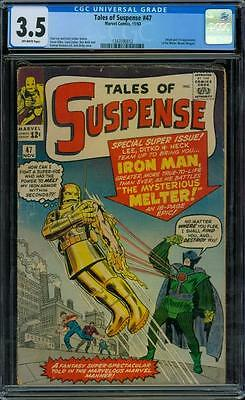 Tales of Suspense 47 CGC 3.5 - OW Pages