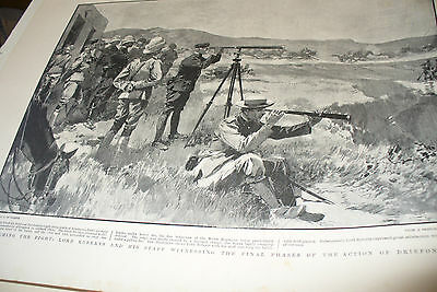 38 Original illustrated PAGES FROM THE GRAPHIC BOER WAR 1899-1902