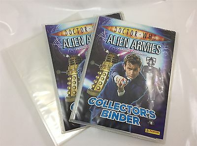 Doctor Who Alien Armies Trading Cards Collection with Three Binders