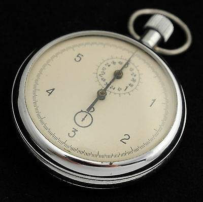 """""""AGAT"""" HIGH PRECISION 6 seconds Soviet Russian STOPWATCH military cal. 4282"""