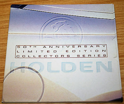 Holden 50th Anniversary Limited Edition Collectors Series Cards