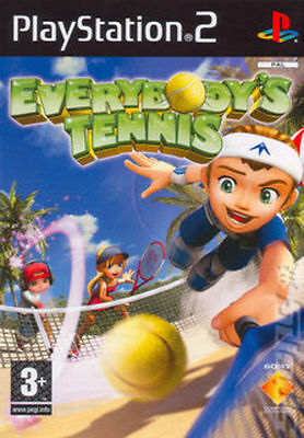 PS2 EVERYBODY'S TENNIS SONY PLAYSTATION 2 Instruction Game SEALED 24Hr Post