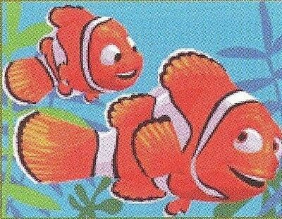"Nemo and Marlin Tapestry Canvas - Royal Paris - 7"" x 9.5"""