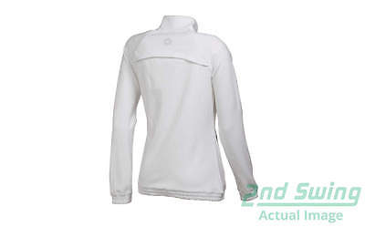 New Womens Puma Dry Cell Full Zip Track Jacket Small S White 568357