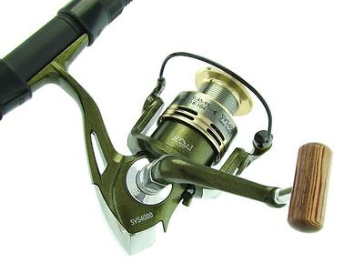 SARATOGA 6'6 8kg Snapper Spinning Fishing Rod and Reel Combo Flathead Salmon