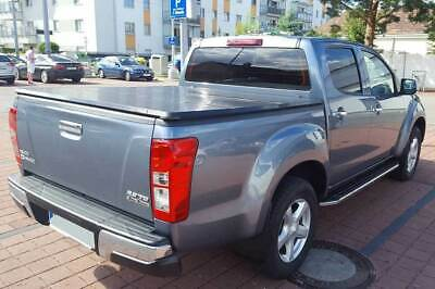 Toyota Hilux 2016 Onwards Hard Tri-Fold Tonneau Cover Dc Protector Protecting