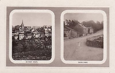 Alston, Town & Bank Foot Real Photo Postcard used 1911