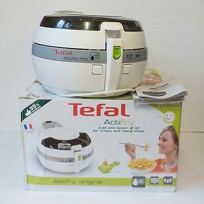 Tefal Actifry Gh806115 - 1.2Kg - One Spoon Of Oil - White