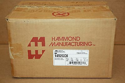 Hammond Mfg 1452Gc6 Instrument Case Ventilated Chassis Enclosure