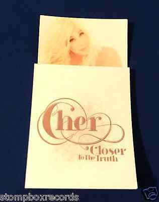 RARE Cher Closer To the Truth PROMO MAGNET w/NOTE PAD sticky notes MINT/UNUSED