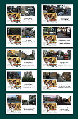 Steptoe And Son (The Movie) - Then & Now - Film Locations Postcard Set