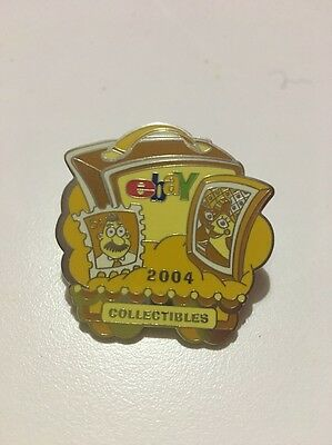 eBay Live New Orleans 2004 Yellow Monochromatic Collectibles Category Pin Sealed