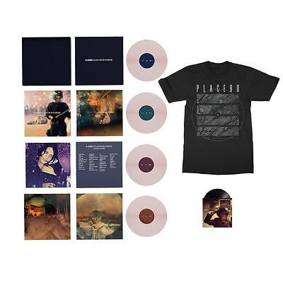 """Placebo A Place For Us To Dream Usa Pink Vinyl 4Lp Deluxe Box Set + 7"""" & T-Shirt"""