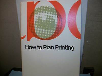 """How to Plan Printing"" 1988 S.D. Warren Promo Design Typography"