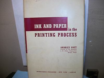 Ink&paper In The Printing Process By Andries Voet.j.m.huber Corporation.