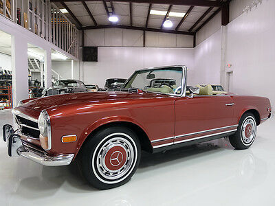 1971 Mercedes-Benz 200-Series 280SL Roadster, 1 of only 520 delivered to the US! 1971 Mercedes-Benz 280SL Roadster, factory A/C! Includes hardtop and soft top!