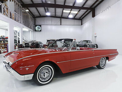1962 Ford Thunderbird M-Code Sports Roadster, Beautifully Restored! 1962 Ford Thunderbird M-Code Sports Roadster, Rare Tri-Power set-up!