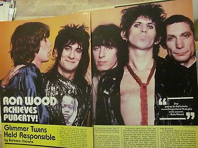 The Rolling Stones, Four Page Vintage Clipping
