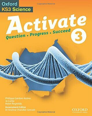 Activate 3 Student Book by Reynolds, Helen Book The Cheap Fast Free Post