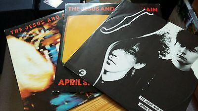 The Jesus & Mary Chain 12' vinyl records x3 ex cond indie 80s indie smiths cure