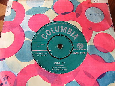 CLIFF RICHARD and the Drifters - MOVE IT!  1959     VINYL GOOD