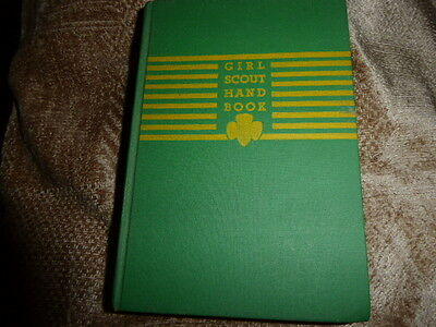 Vintage Girl Scout Hand Book - 1946