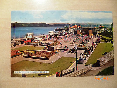 Topographical Colour postcard - Posted 1966 - DUNOON