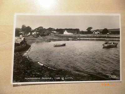 Topographical Real Photo postcard - Undated Unposted - TOBERONOCHY Isle of Luing