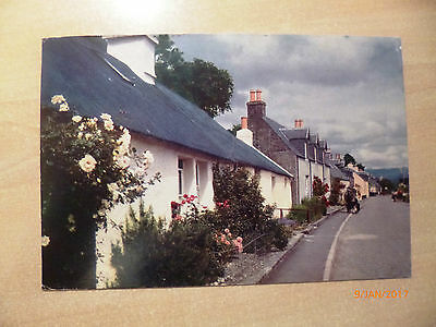 Topographical Colour postcard - Postmark unclear - Loch Carron village, Ross
