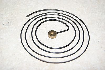 Round Wire Gong 4 1/4 Inch Brass Center New Clock Parts