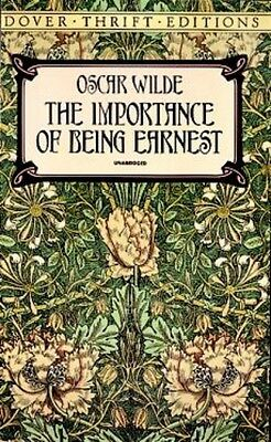 The Importance of Being Earnest (Dover Thrift Editions) (Mass Mar. 9780486264783