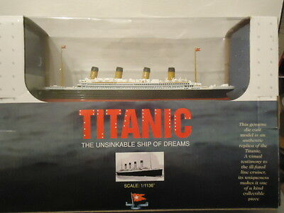 """Titanic Diecast Scale Model 1/1136"""" Scale  Mint/boxed"""