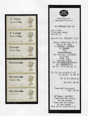 Specialised Collection Of Post & Go Labels