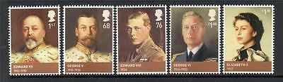 Gb Mnh 2012 Sg3265-3269 Kings And Queens - House Of Windsor Set Of 5